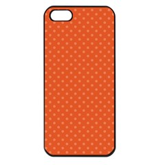 Dots Apple iPhone 5 Seamless Case (Black)