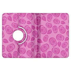Floral pattern Kindle Fire HDX Flip 360 Case