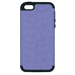 Floral pattern Apple iPhone 5 Hardshell Case (PC+Silicone)
