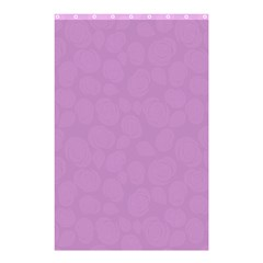 Floral pattern Shower Curtain 48  x 72  (Small)