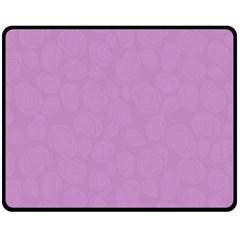 Floral pattern Double Sided Fleece Blanket (Medium)