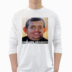Ere! T is Regboy! White Long Sleeve T-Shirts