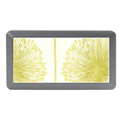 Flower Floral Yellow Memory Card Reader (Mini)