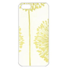 Flower Floral Yellow Apple iPhone 5 Seamless Case (White)