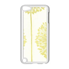 Flower Floral Yellow Apple iPod Touch 5 Case (White)