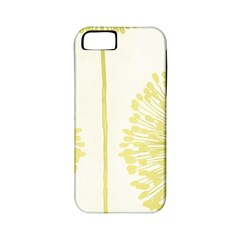 Flower Floral Yellow Apple iPhone 5 Classic Hardshell Case (PC+Silicone)