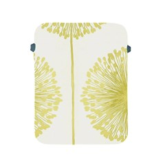 Flower Floral Yellow Apple iPad 2/3/4 Protective Soft Cases