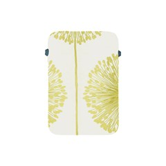 Flower Floral Yellow Apple iPad Mini Protective Soft Cases