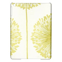 Flower Floral Yellow iPad Air Hardshell Cases