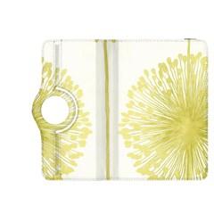 Flower Floral Yellow Kindle Fire Hdx 8 9  Flip 360 Case