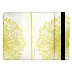 Flower Floral Yellow Samsung Galaxy Tab Pro 12.2  Flip Case