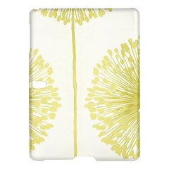 Flower Floral Yellow Samsung Galaxy Tab S (10.5 ) Hardshell Case