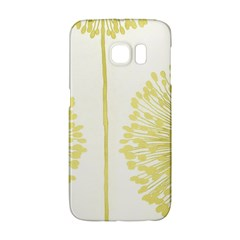 Flower Floral Yellow Galaxy S6 Edge