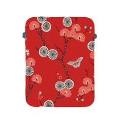 Dandelions Red Butterfly Flower Floral Apple iPad 2/3/4 Protective Soft Cases