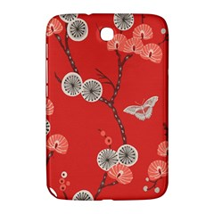 Dandelions Red Butterfly Flower Floral Samsung Galaxy Note 8.0 N5100 Hardshell Case
