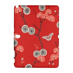 Dandelions Red Butterfly Flower Floral Galaxy Note 1