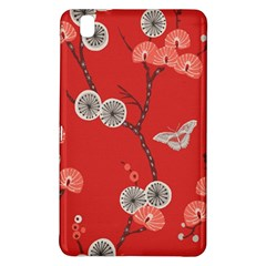 Dandelions Red Butterfly Flower Floral Samsung Galaxy Tab Pro 8.4 Hardshell Case