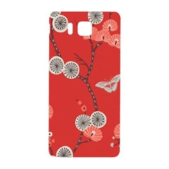 Dandelions Red Butterfly Flower Floral Samsung Galaxy Alpha Hardshell Back Case