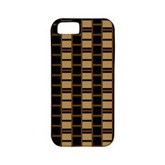 Geometric Shapes Plaid Line Apple iPhone 5 Classic Hardshell Case (PC+Silicone)