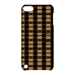 Geometric Shapes Plaid Line Apple iPod Touch 5 Hardshell Case with Stand