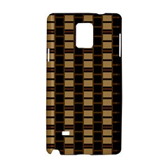 Geometric Shapes Plaid Line Samsung Galaxy Note 4 Hardshell Case