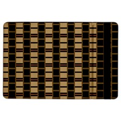 Geometric Shapes Plaid Line iPad Air 2 Flip