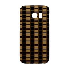 Geometric Shapes Plaid Line Galaxy S6 Edge