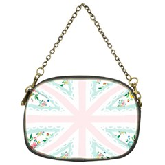 Frame Flower Floral Sunflower Line Chain Purses (One Side)