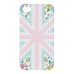 Frame Flower Floral Sunflower Line Apple iPhone 4/4S Premium Hardshell Case