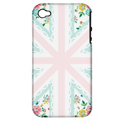 Frame Flower Floral Sunflower Line Apple iPhone 4/4S Hardshell Case (PC+Silicone)
