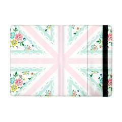 Frame Flower Floral Sunflower Line iPad Mini 2 Flip Cases