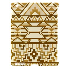 Geometric Seamless Aztec Gold Apple iPad 3/4 Hardshell Case (Compatible with Smart Cover)