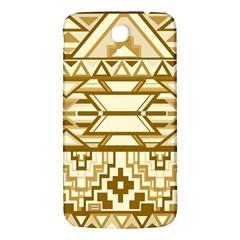 Geometric Seamless Aztec Gold Samsung Galaxy Mega I9200 Hardshell Back Case