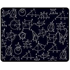 Geometry Geometry Formula Double Sided Fleece Blanket (Medium)