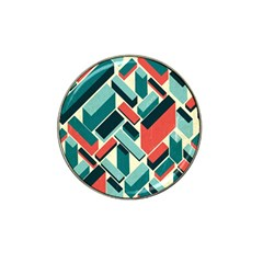 German Synth Stock Music Plaid Hat Clip Ball Marker (10 pack)