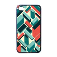 German Synth Stock Music Plaid Apple iPhone 4 Case (Black)