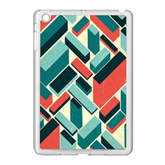 German Synth Stock Music Plaid Apple iPad Mini Case (White)