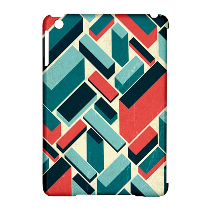 German Synth Stock Music Plaid Apple iPad Mini Hardshell Case (Compatible with Smart Cover)