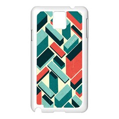 German Synth Stock Music Plaid Samsung Galaxy Note 3 N9005 Case (White)