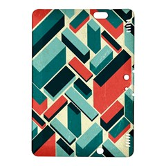 German Synth Stock Music Plaid Kindle Fire HDX 8.9  Hardshell Case