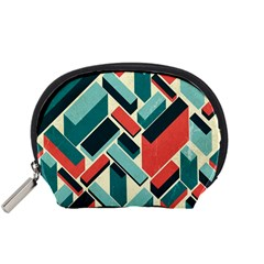 German Synth Stock Music Plaid Accessory Pouches (Small)