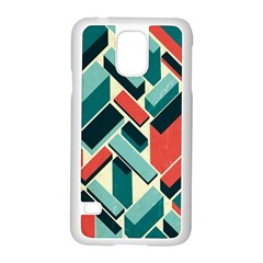 German Synth Stock Music Plaid Samsung Galaxy S5 Case (White)