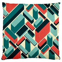 German Synth Stock Music Plaid Large Flano Cushion Case (Two Sides)