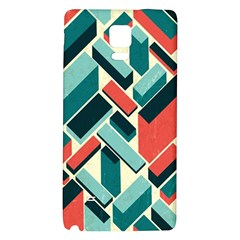 German Synth Stock Music Plaid Galaxy Note 4 Back Case