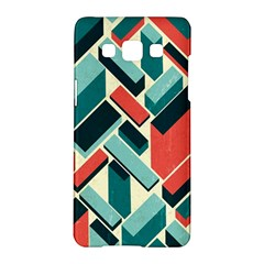 German Synth Stock Music Plaid Samsung Galaxy A5 Hardshell Case