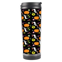 Ghost Pumkin Craft Halloween Hearts Travel Tumbler