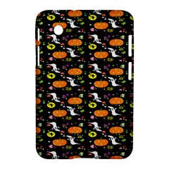 Ghost Pumkin Craft Halloween Hearts Samsung Galaxy Tab 2 (7 ) P3100 Hardshell Case