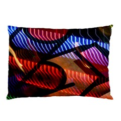 Graphic Shapes Experimental Rainbow Color Pillow Case (Two Sides)