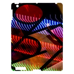 Graphic Shapes Experimental Rainbow Color Apple iPad 3/4 Hardshell Case