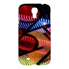 Graphic Shapes Experimental Rainbow Color Samsung Galaxy S4 I9500/I9505 Hardshell Case